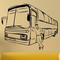 Samolepky na zeď Autobus 0783