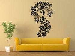 Samolepky na zeď Ornament noty 0280