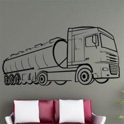 Samolepky na zeď Kamion 003
