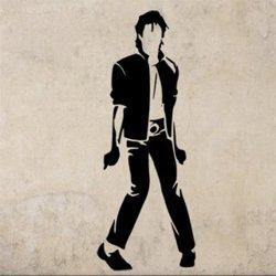 Samolepky na zeď Michael Jackson 1339