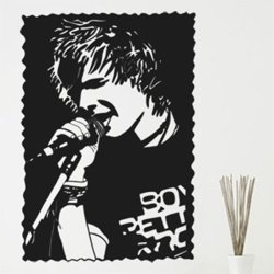 Samolepky na zeď Ed Sheeran 1348