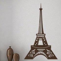 Samolepky na zeď Eifelova věž 006