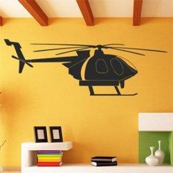 Samolepky na zeď Vrtulník 0868