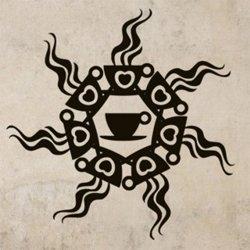 Samolepky na zeď Hrnek kávy 0051