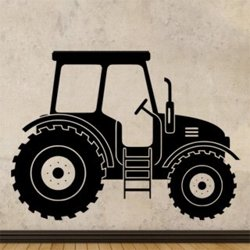Samolepky na zeď Traktor 0720