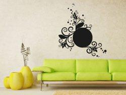 Samolepky na zeď Ornamenty z rostlin 025