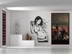 Samolepky na zeď Dívka 016