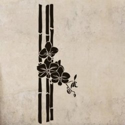 Samolepky na zeď Bambus 005