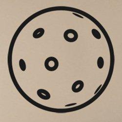 Samolepky na zeď Florbalový míček 1114
