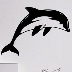 Samolepky na zeď Delfín 0196