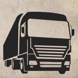 Samolepky na zeď Kamion 0738