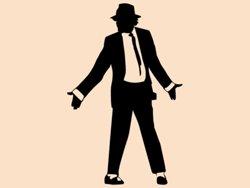 Samolepky na zeď Michael Jackson 1333