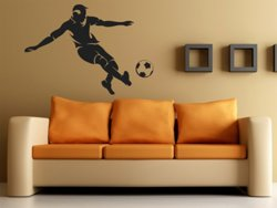 Samolepky na zeď Fotbalista 008