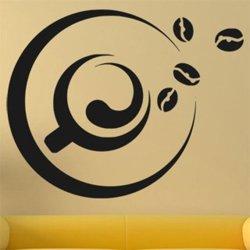 Samolepky na zeď Hrnek kávy 0099