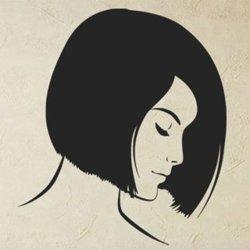 Samolepky na zeď Portrét ženy 1051