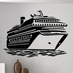 Samolepky na zeď Loď výletní 0934