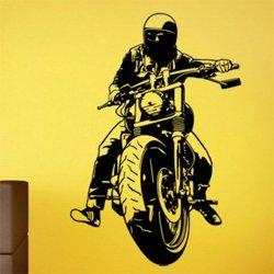 Samolepky na zeď Motorka 1022