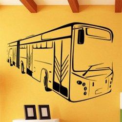 Samolepky na zeď Autobus 0794