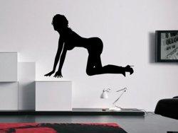 Samolepky na zeď Sexy tanečnice 004