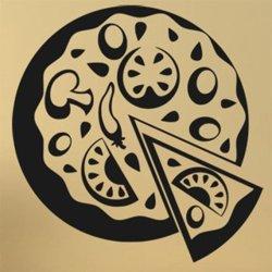 Samolepky na zeď Pizza 0149