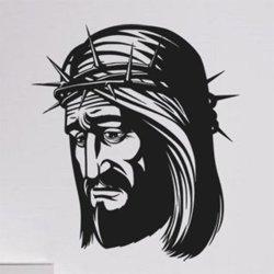 Samolepky na zeď Ježíš 1372