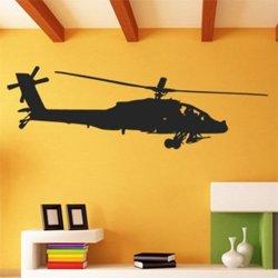 Samolepky na zeď Helikoptéra 0821