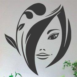 Samolepky na zeď Žena 036