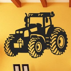Samolepky na zeď Traktor 0715