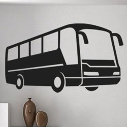 Samolepky na zeď Autobus 0795