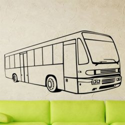 Samolepky na zeď Autobus 0782
