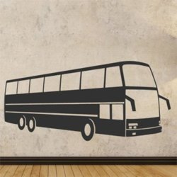 Samolepky na zeď Autobus 0796
