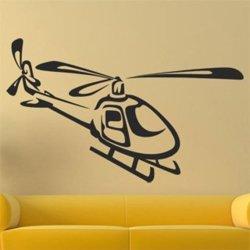 Samolepky na zeď Helikoptéra 0809