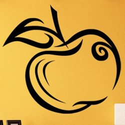 Samolepky na zeď Jablko 001