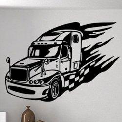 Samolepky na zeď Kamion 0736