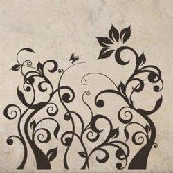 Samolepky na zeď Rostlina 013