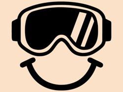 Samolepky na zeď Brýle na snowboard 0974