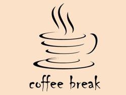 Samolepky na zeď Nápis Coffee break 0043