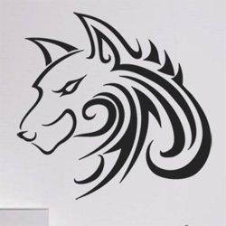 Samolepky na zeď Vlk 001
