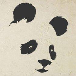 Samolepky na zeď Panda 002