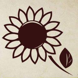 Samolepky na zeď Květiny 002