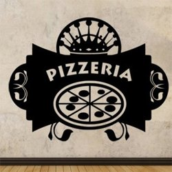 Samolepky na zeď Nápis Pizzeria 0151