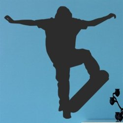 Samolepky na zeď Skateboardista 005
