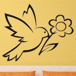 Samolepky na zeď Pták 017