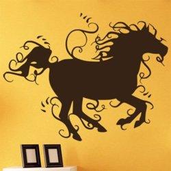 Samolepky na zeď Kůň 015