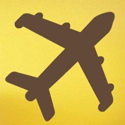 Samolepky na zeď Letadlo 0867