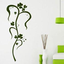 Samolepky na zeď Ornamenty z rostlin 035