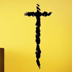 Samolepky na zeď Křesťanský kříž 1376