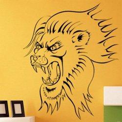 Samolepky na zeď Lev 002