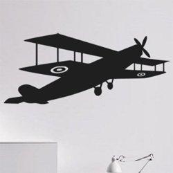 Samolepky na zeď Letadlo 0837