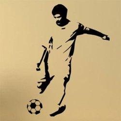 Samolepky na zeď Fotbalista 0588